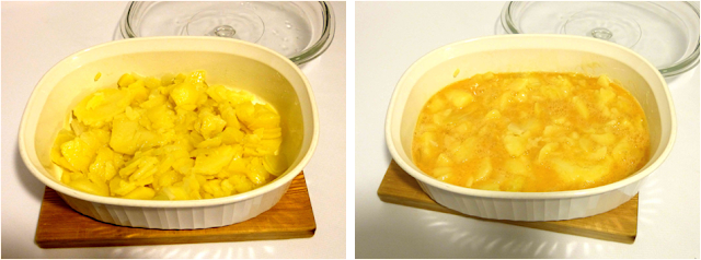 Elaboración tortilla de patatas
