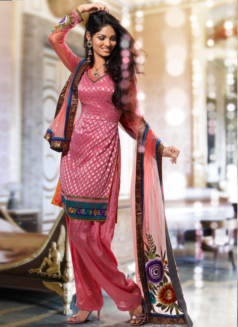 Silk Salwar Suits Dress Yy