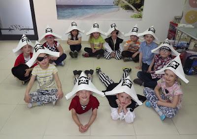 kapelusz pirata, pirackie urodzinki