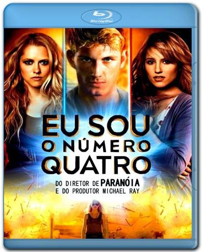 Baixar Filme Eu Sou o Numero Quatro BDRip AVI Dual Audio Download via Torrent
