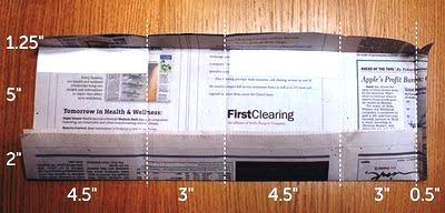 Kerajinan Tangan Dari Koran Bekas , Cara Membuat Tas Kertas