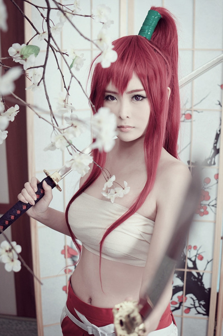 Animegirlsfantasi Fairy Tail Cosplay Beauty Of Erza Scarlet