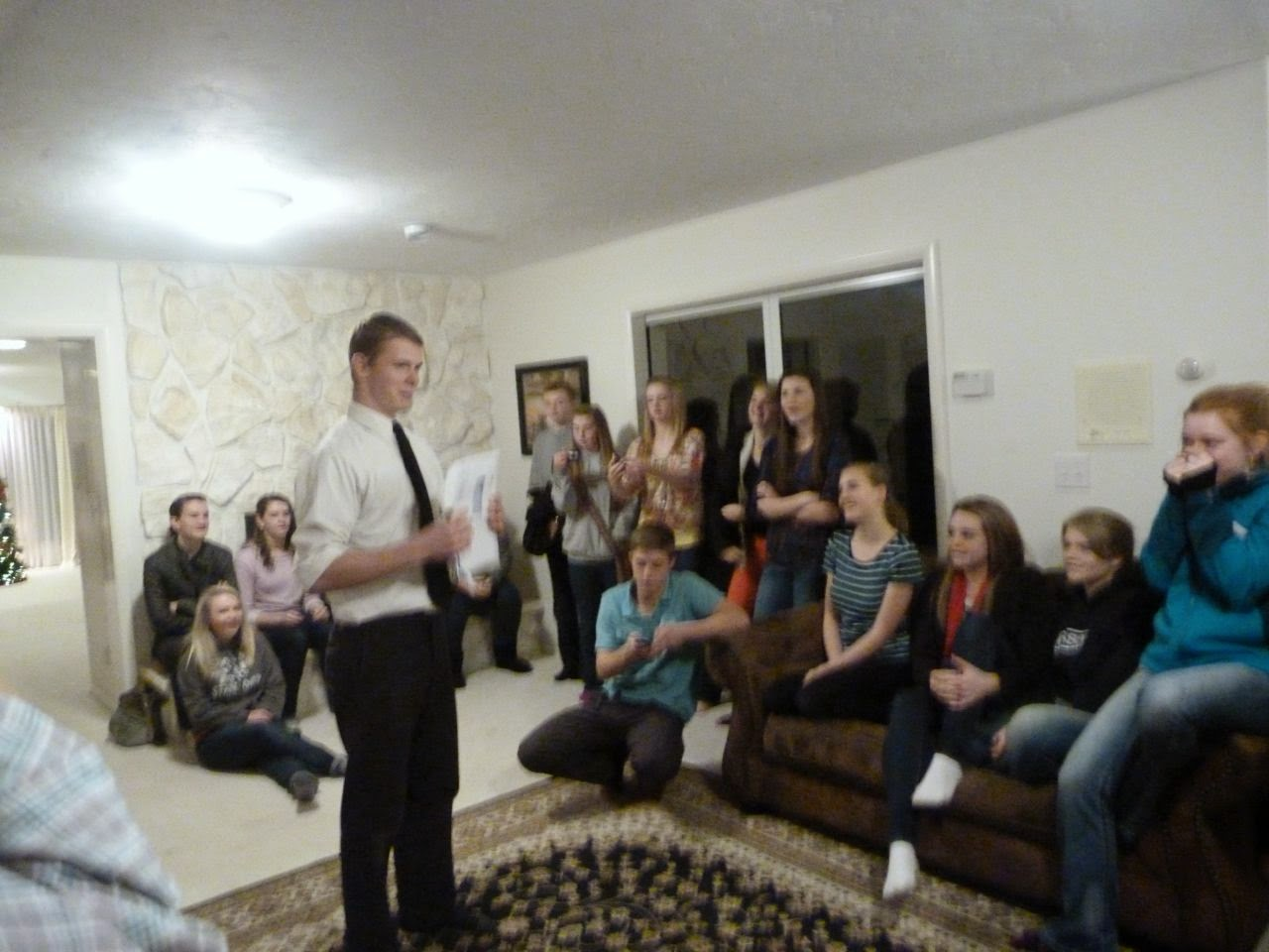 Jace opening his mission call