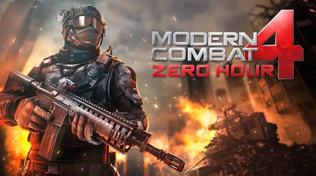 Modern Combat 4 Zero Hour 1.1.7c Mod Apk