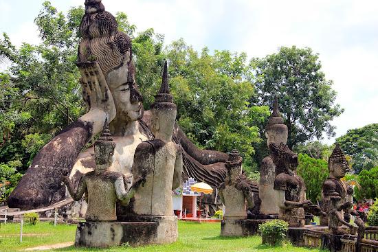 Parque Buda de Vientian - Laos