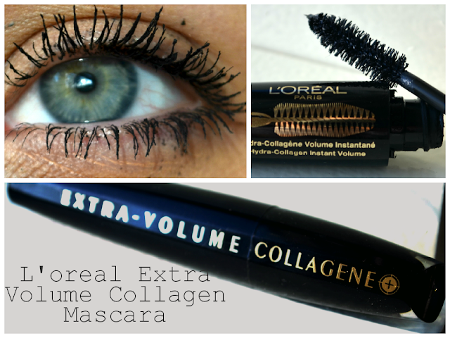Loreal - Extra Volume Collagen Mascara - review - swatch