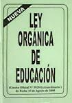 DESCARGA LA LEY ORGÁNICA DE EDUCACIÓN