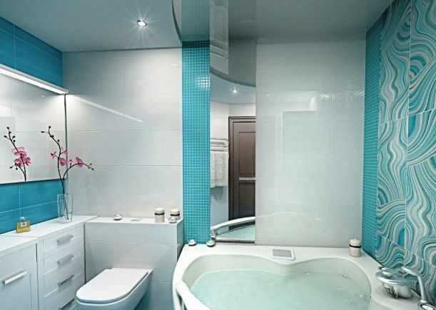 Fantastic Purple And Turquoise Colour Schemes For Small Bathrooms, Light Turquoise Colors For Bathroom Design Ideas, Small Bathroom Tiles Turquoise Colors Feel Relaxing And Calming Turquoise, Which Is Blue And Green Colors Mix, Bathroom