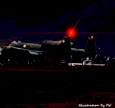 UFO Over A-10's at RAF Bentwater