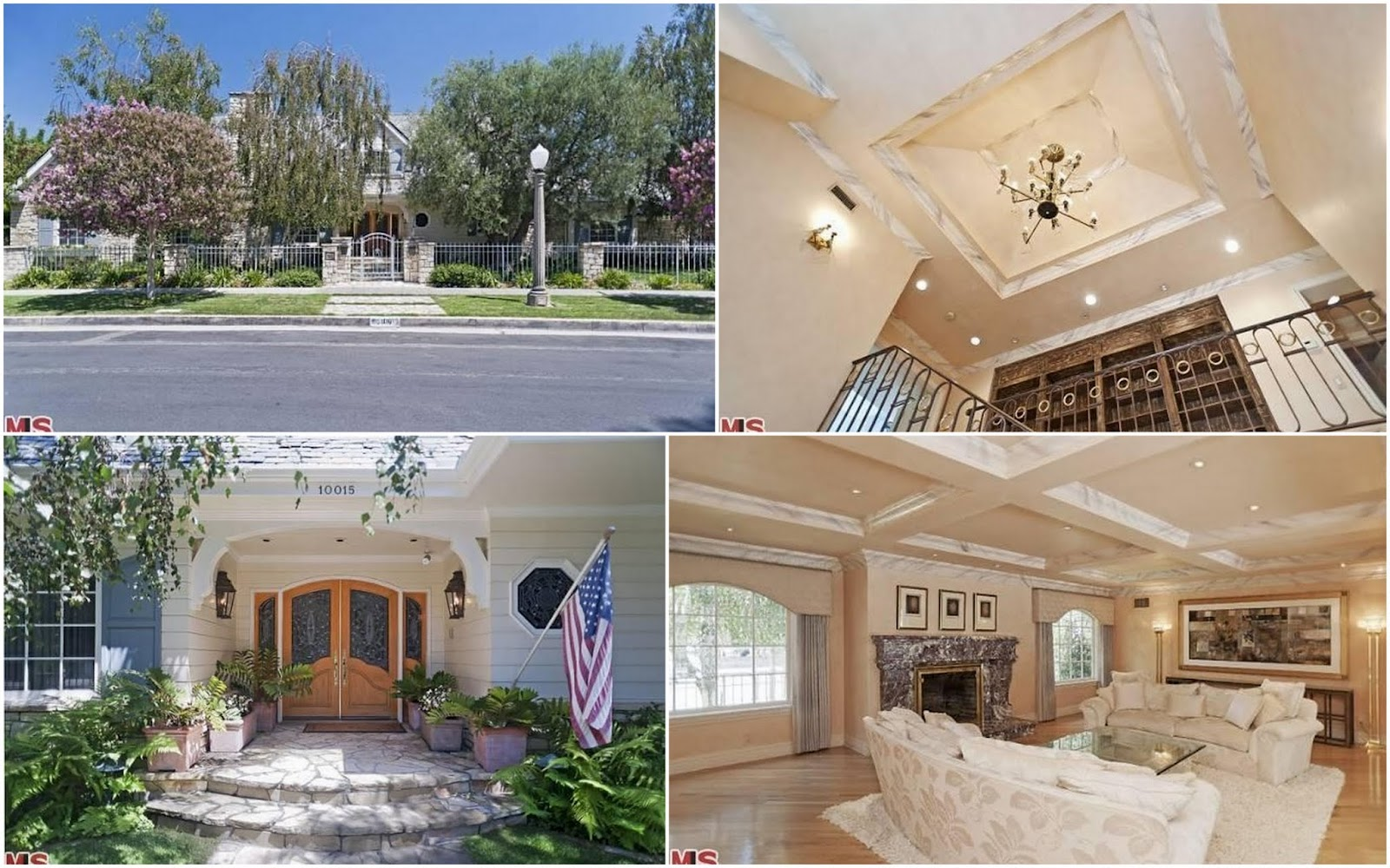 Celebrity real estate jennifer love hewitt lists and Celebrity real estate pictures