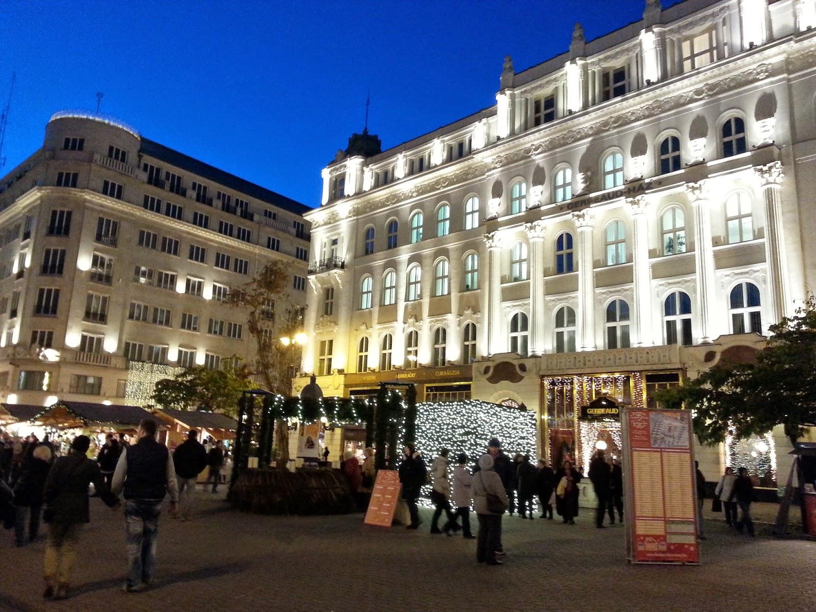 Vianočné trhy v Budapešti