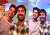 Vijay and Dhanush's sweet gesture