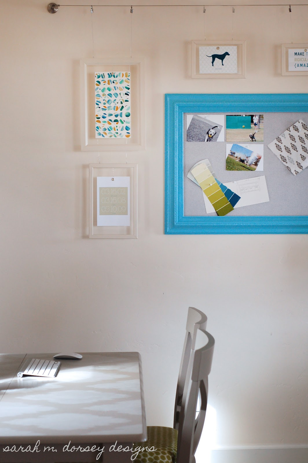 Gallery Wall for the Living Room / Office! - Dorsey Designs