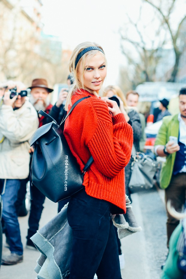 Karlie Kloss, Milano, February 2015