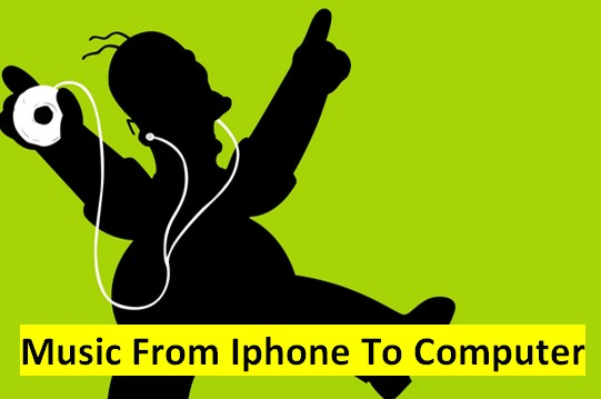 How To Move Music From Iphone To Computer