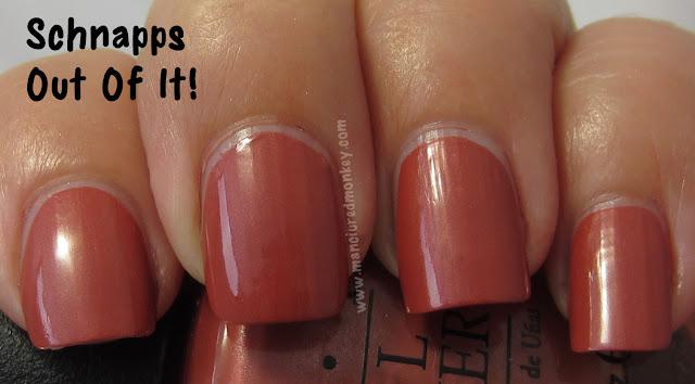 OPI Germany - Schnapps Out Of It!