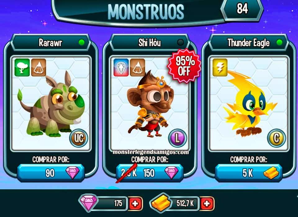 imagen de la oferta del monstruo monkey king