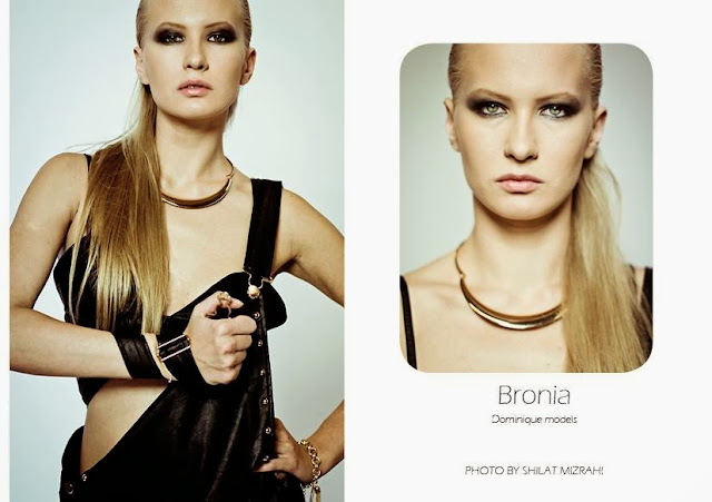 Bronia  model, israeli fashion, girl, top beautiful, london