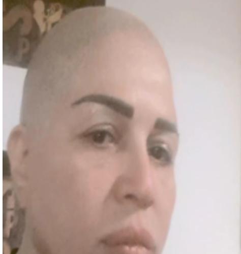 إلهام شاهين تحلق شعرها على الزيرو لاجل فيلم ريجاتا بالصور