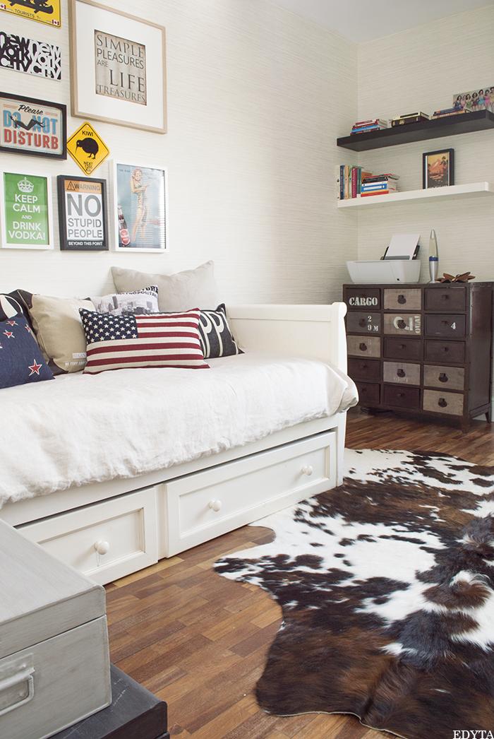 Edyta dise o decoraci n blog de decoraci n antes y - Diseno habitacion juvenil ...