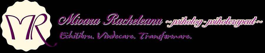 Mioara Racheleanu, psiholog - psihoterapeut