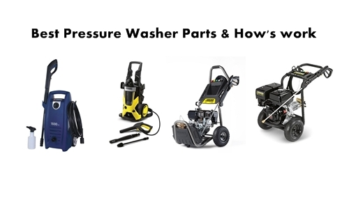 Electric Pressure Washer Parts & How's work