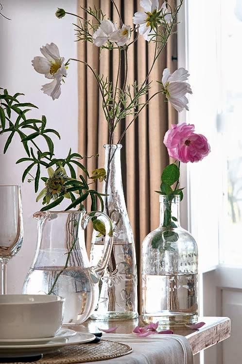 Casinha colorida dicas de decora o feminina e elegante - Decoracion de jarrones de cristal ...