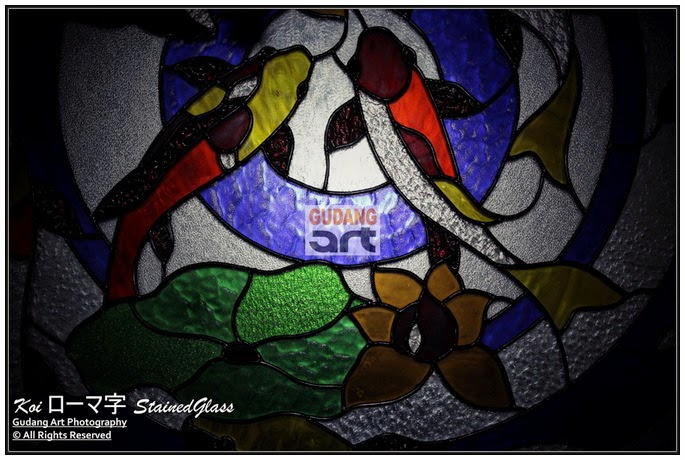 kaca patri, lukisan kaca patri