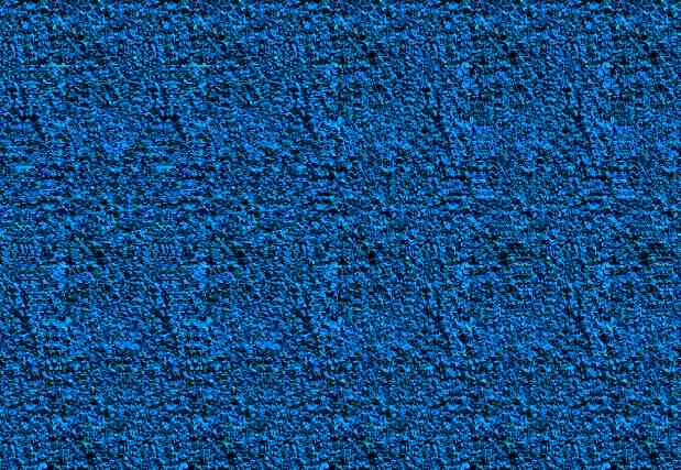 Кошка прячется в синем фоне