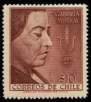 60ème ANNIVERSAIRE DE LA MORT DE GABRIELA MISTRAL