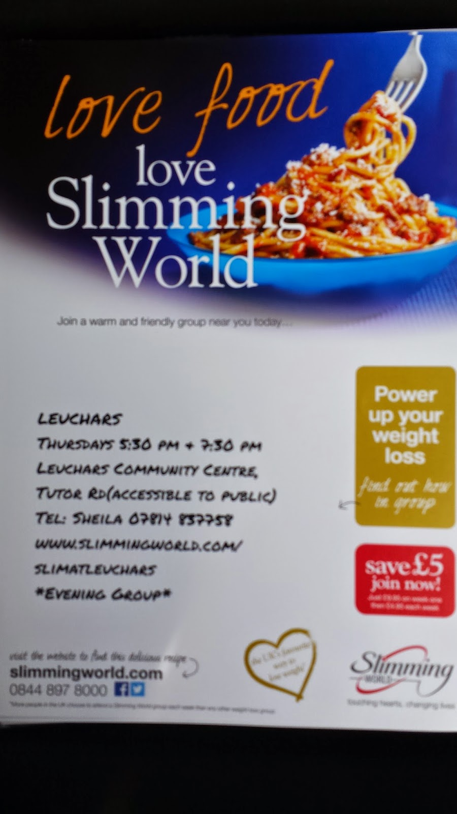 Leuchars hive april 2015 Slimming world offers 2016
