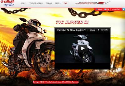 Harga Motor Yamaha Jupiter Z 2012