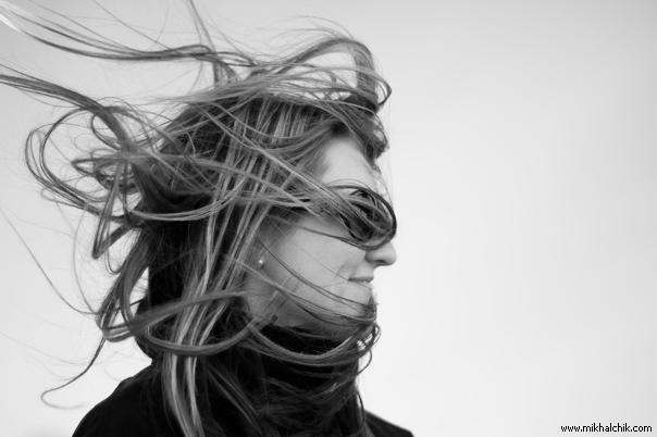 ros. blow hair