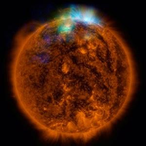 Imagem de alta precisão do Sol é feita por Supertelescópio