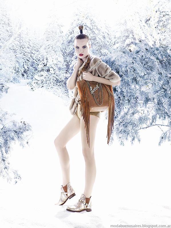Carteras otoño invierno 2014 Carla Danelli. Moda otoño invierno 2014.