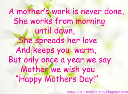 Happy Motheru0027s Day Popular Quotes And Wishes Cards 2013