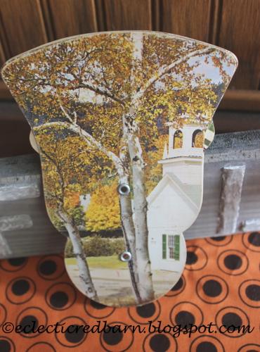 Vintage church fan