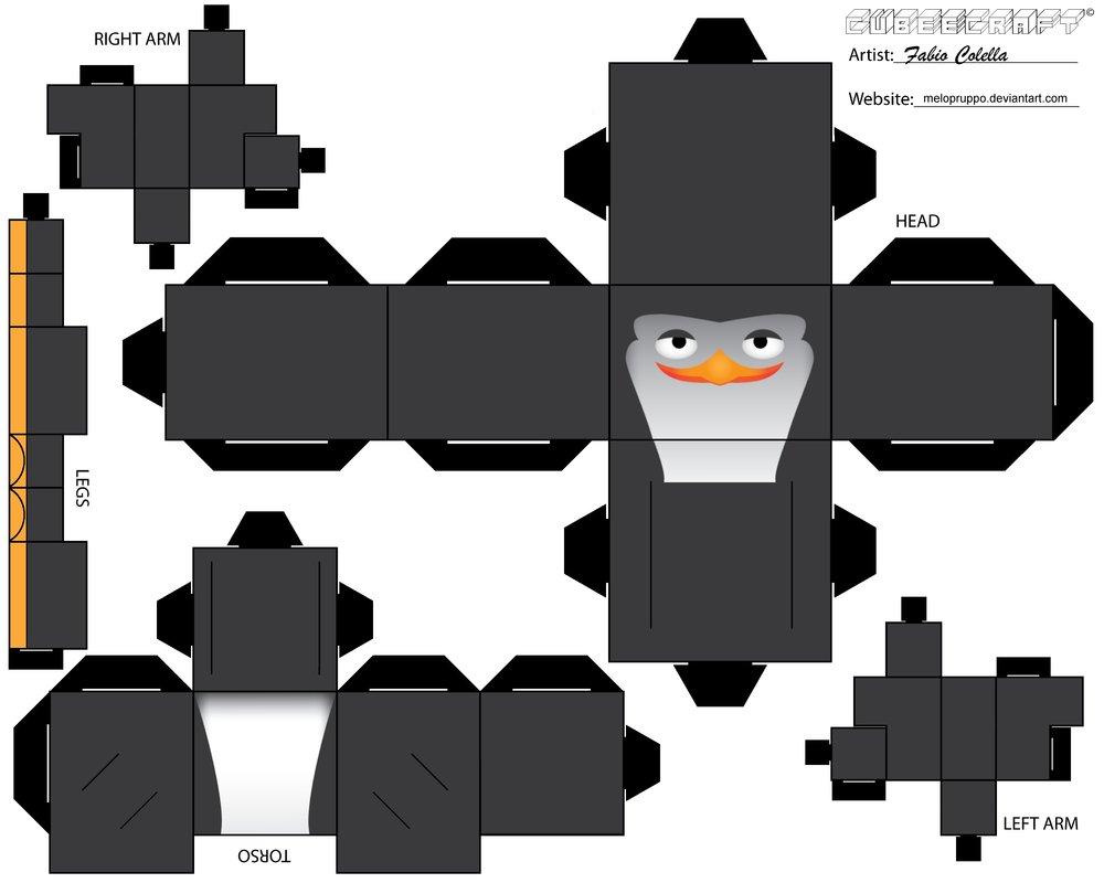 Pin Cubeecrafts Para Imprimir Y Armar Taringa On Pinterest Picture