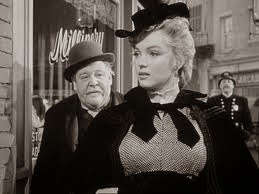 Marilyn Monroe & Charles Laughton...