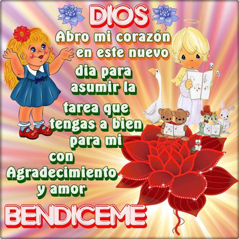 dios bendiceme
