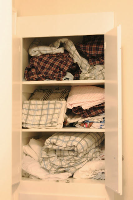 Get it Organized - Linen Closet! #containerstore @The Container Store