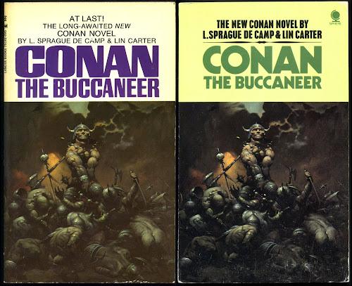 1971 CONAN THE BUCCANEER by L. Sprague De Camp 1st Lancer Paperback FN-