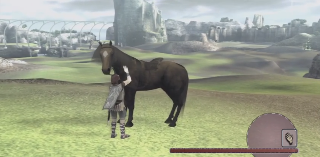 Shadow of the colossus brown agro