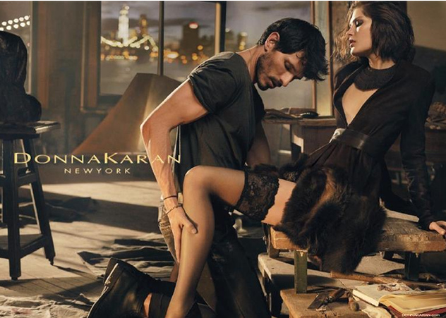 Donna Karan Fall/Winter 2013 Steamy Campaign