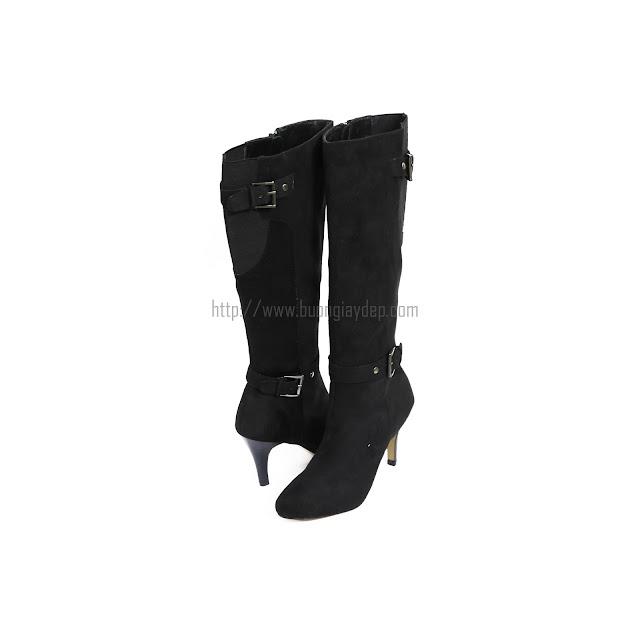 Bán sỉ boot cao cổ nữ màu đen