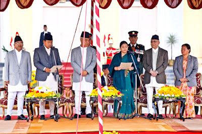 nanda kishor pun elected vice president