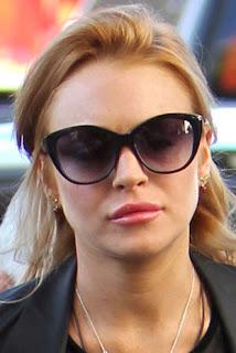 Lindsay Lohan Lips Injections