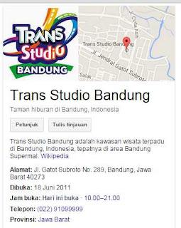 hotel trans studio bandung