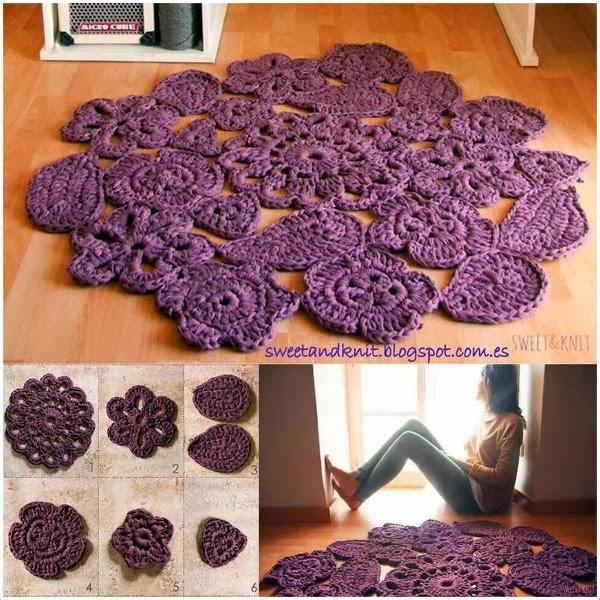 Vuestras alfombras de trapillo trapillo pinterest - Alfombras de trapillo ...