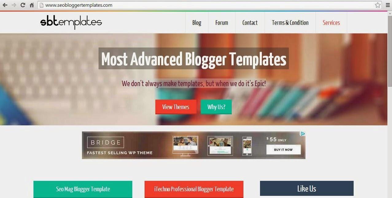 Free SEO Blogger Templates